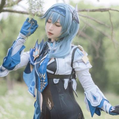 Kawaii Genshin Impact Eula Cosplay Costume