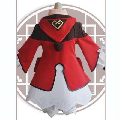 Kawaii Klee From Genshin Impact Halloween Cosplay Costume