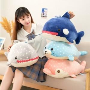 Kawaii Fluffy Ocean Buddies Plush
