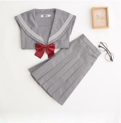 Kawaii Sakura Sailor Dress Set