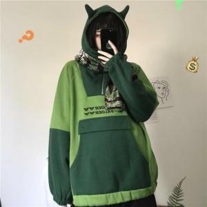 Cute Devil Horns Kawaii Hoodie