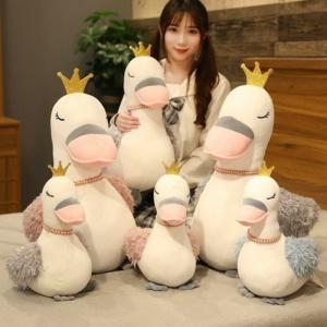 Kawaii Cia the Gentle Swan Queen Plushie