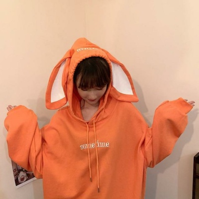 Kawaii Mitsu Oversized Bunny Hoodie