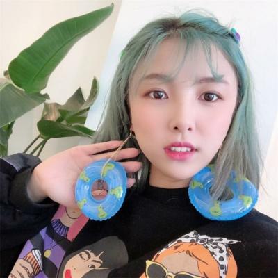 Kawaii Duck Floaty Earrings