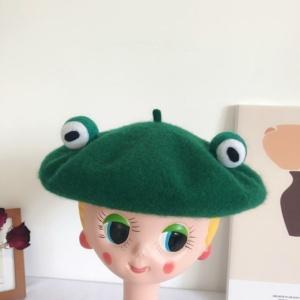 Kawaii Little Frog Beret