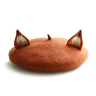 Kawaii Little Fox Ears Beret
