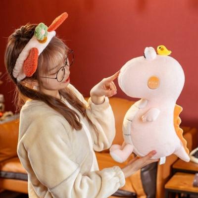 Kawaii Big Eyed Dinosaurs & Chick Friends Plush