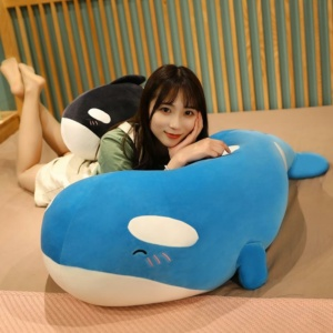 Kawaii Chubby Cheeky Happy Whale Plushies