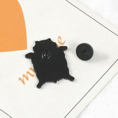 Kawaii Fat Cat Enamel Pin
