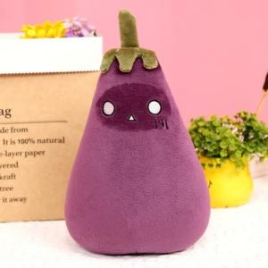 Kawaii Eggplant Vegetable Plush