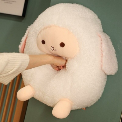 Kawaii Larry The Lamb Puffy Plush