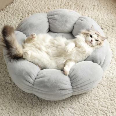 Kawaii Flower Shaped Cat Bed