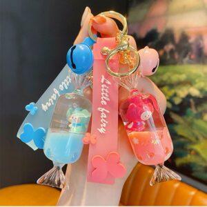 Little Fairy Wishing Bottle Keychain