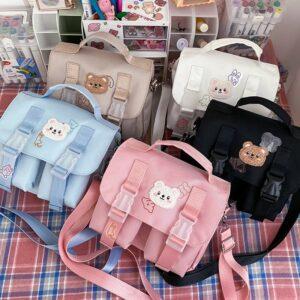 Kawaii Girl Bear Shoulder Bag