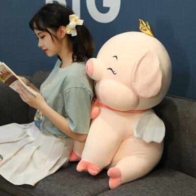 Kawaii Fairy Pig Stuffed Toy Plush
