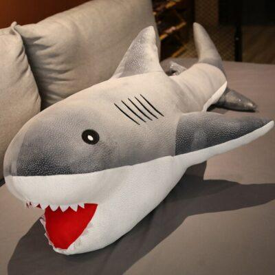 Kawaii Giant Shark Plush
