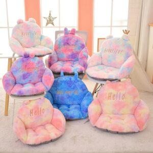 Kawaii Rainbow Plush Sofa Cushion