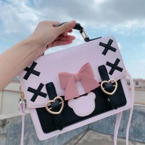 Kawaii Lolita Bow Knot Shoulder Bag